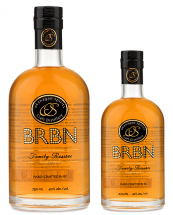 Essential BRBN Bourbon-Style Corn Whisky Mickey