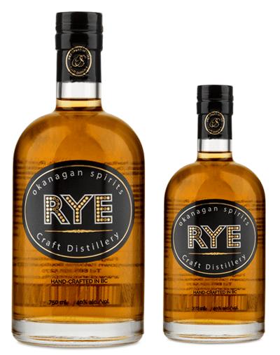 BC Rye Whisky 375ml