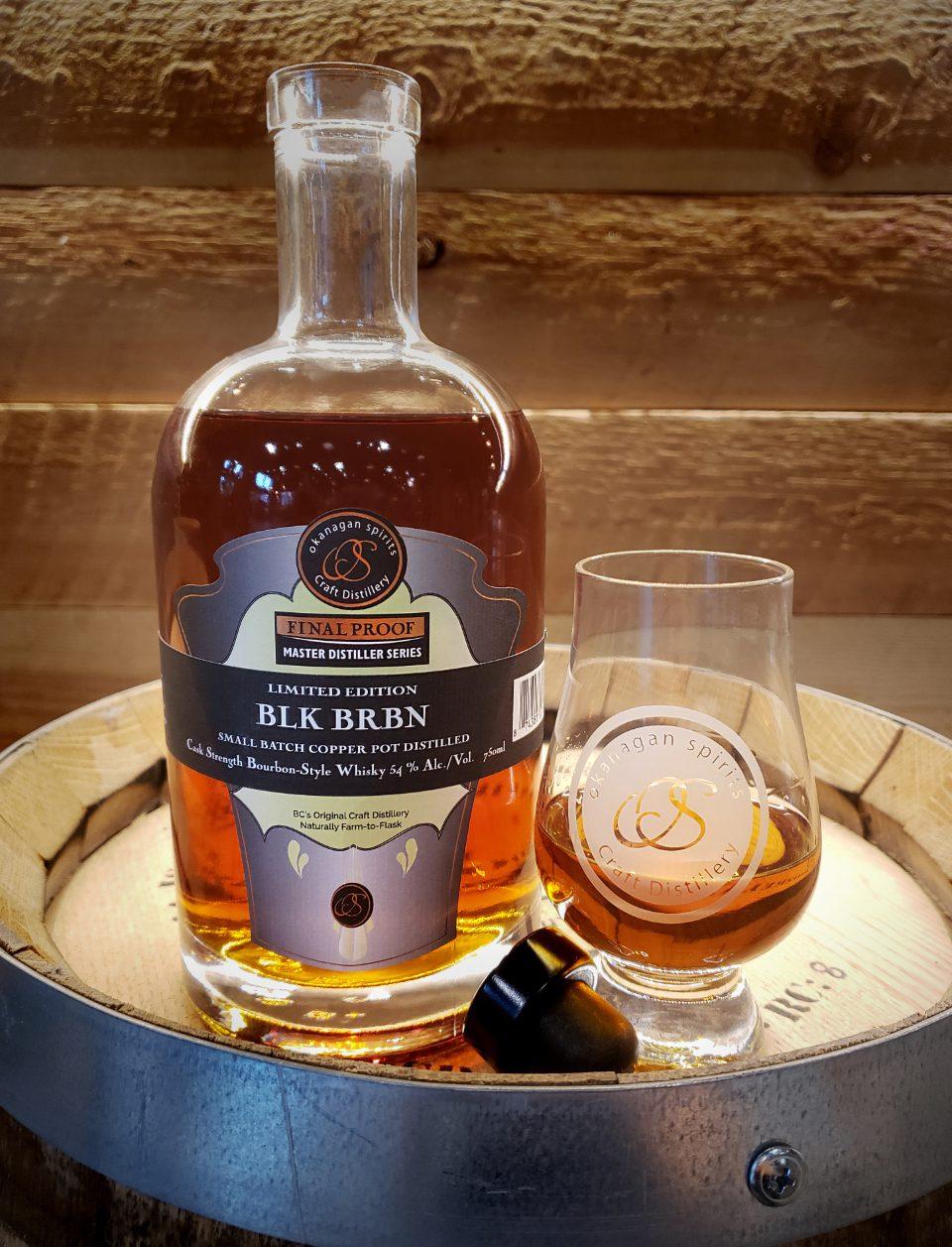 BLK BRBN Cask Strength Bourbon-Style Whisky