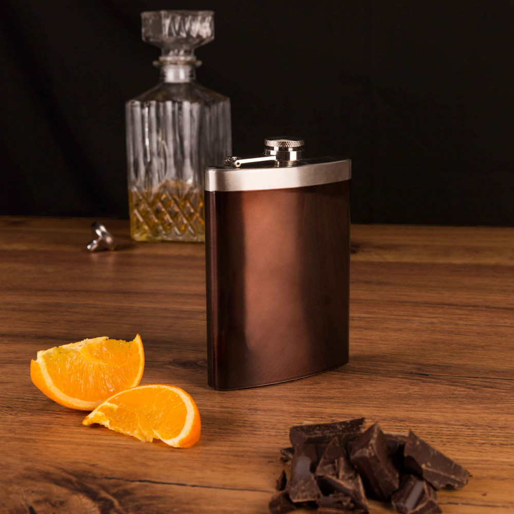 8 oz Hip Flask with Funnel